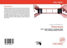 Buchcover von Paras Arora