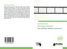 Capa do livro de Ali Asgar (Actor)