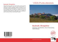 Bookcover of Bucknell, Shropshire