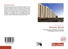 Capa do livro de Armavir, Russia