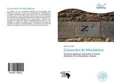 Bookcover of Cassandre de Macédoine