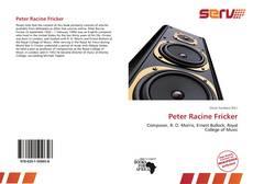 Bookcover of Peter Racine Fricker