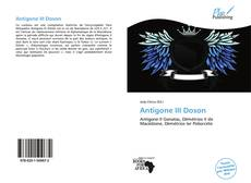 Bookcover of Antigone III Doson
