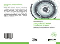 Bookcover of International Design Excellence Awards