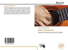 Portada del libro de Rubin Goldmark