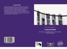 Bookcover of Ganesh Babu