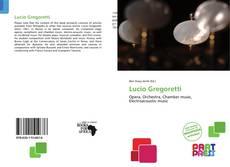 Lucio Gregoretti kitap kapağı