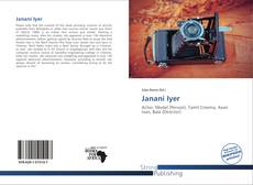 Bookcover of Janani Iyer