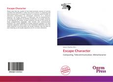 Bookcover of Escape Character