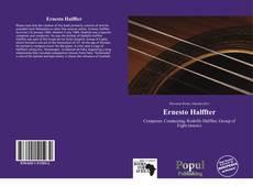 Bookcover of Ernesto Halffter