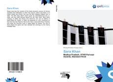 Bookcover of Sara Khan