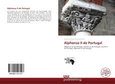 Bookcover of Alphonse II de Portugal