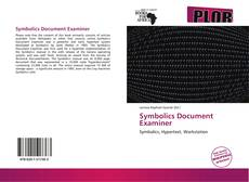 Bookcover of Symbolics Document Examiner