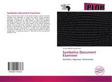 Borítókép a  Symbolics Document Examiner - hoz