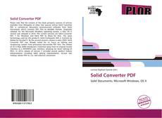 Capa do livro de Solid Converter PDF