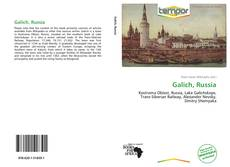 Bookcover of Galich, Russia