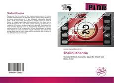 Bookcover of Shalini Khanna