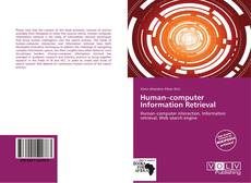 Bookcover of Human–computer Information Retrieval