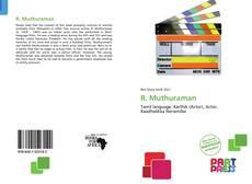 Capa do livro de R. Muthuraman