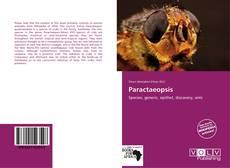 Paractaeopsis kitap kapağı