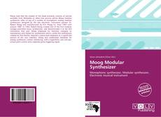 Bookcover of Moog Modular Synthesizer