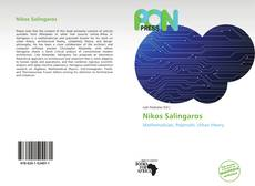Capa do livro de Nikos Salingaros