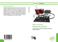 Bookcover of Prashanth (Actor)