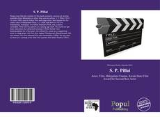 Bookcover of S. P. Pillai