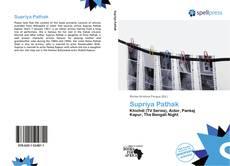 Capa do livro de Supriya Pathak