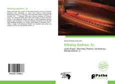 Nikolay Kedrov, Sr.的封面