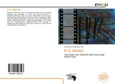 Bookcover of R. K. (Actor)