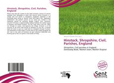 Borítókép a  Hinstock, Shropshire, Civil, Parishes, England - hoz