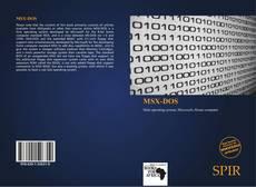 Bookcover of MSX-DOS