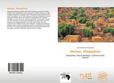 Portada del libro de Homer, Shropshire