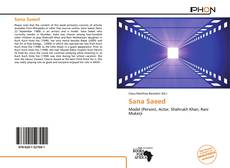 Bookcover of Sana Saeed