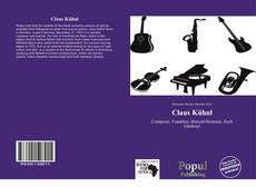 Bookcover of Claus Kühnl