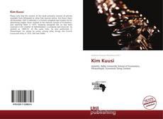 Buchcover von Kim Kuusi