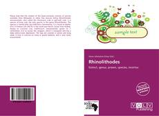 Couverture de Rhinolithodes