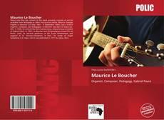 Capa do livro de Maurice Le Boucher