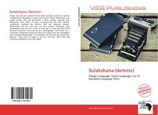Portada del libro de Sulakshana (Actress)