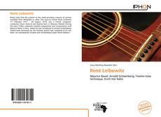 Buchcover von René Leibowitz