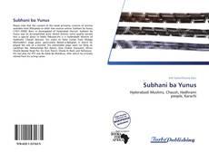 Subhani ba Yunus kitap kapağı