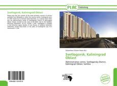 Bookcover of Svetlogorsk, Kaliningrad Oblast