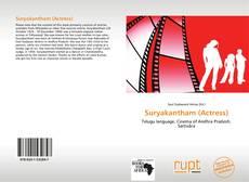 Portada del libro de Suryakantham (Actress)