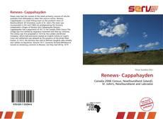 Capa do livro de Renews- Cappahayden