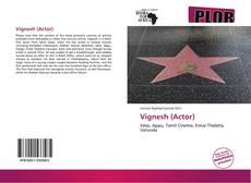 Portada del libro de Vignesh (Actor)