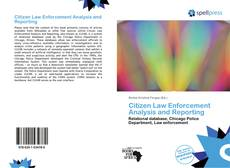 Copertina di Citizen Law Enforcement Analysis and Reporting