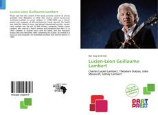 Bookcover of Lucien-Léon Guillaume Lambert