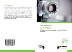 Bookcover of K. R. Vijaya