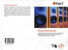 Bookcover of Witold Maliszewski